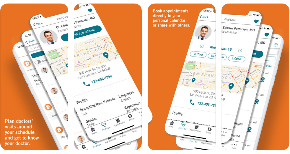image of Dignity Health, Office of Digital Wins 2018 Best Healthcare Provider Mobile Application Mobile WebAward for My Home