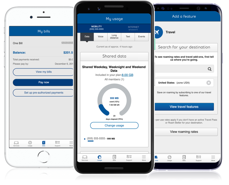 image of Bell Canada Design and Delivery Wins 2018 Best Telecommunication Mobile Application Mobile WebAward for MyBell Mobile