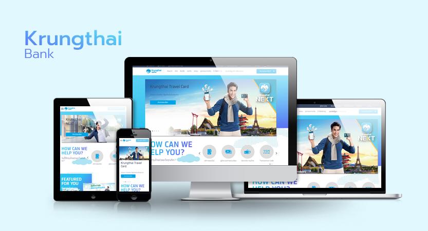 image of Krungthai Bank PCL / Mirum Thailand Wins 2018 Best Bank Mobile Website Mobile WebAward for Krungthai Bank Website