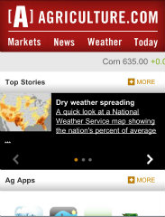 image of Agriculture.com® by Successful Farming® Magazine Wins 2012 Best Magazine Mobile Website Mobile WebAward for Agriculture.com® mobile, m.Agriculture.com
