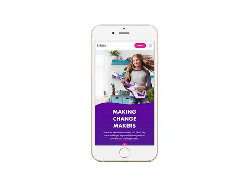 image of Kiosk Wins 2018 Best Toy & Hobby Mobile Website Mobile WebAward for littleBits