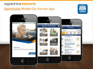 image of Aperto Move / Alphabet Wins 2012 Best Transportation Mobile Application Mobile WebAward for AlphaGuide Mobile Car Service App