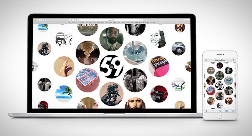 image of Stephen Loveless, Brian Howlett, Mark Harris -  A59/J59 Wins 2019 Best Advertising Mobile Website, Best Design Mobile Website Mobile WebAward for Agency59 Site