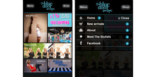 image of MercuryMinds Technologies Pvt Ltd Wins 2012 Best Fashion or Beauty Mobile Application Mobile WebAward for iPhone and Android Web apps for TheBlueDoorBoutique