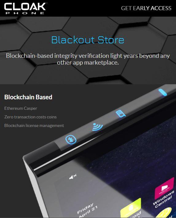 image of KitelyTech Wins 2020 Best Consumer Goods Mobile Website Mobile WebAward for Cloak Phone