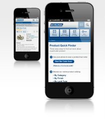 image of White Horse Wins 2012 Best Consumer Goods Mobile Website Mobile WebAward for Schlage Consumer Mobile