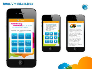 image of AT&T Talent Attraction Wins 2012 Best Employment Mobile Website Mobile WebAward for AT&T Mobile Careers Site