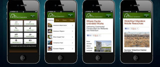 image of Ducks Unlimited Wins 2013 Best Non-Profit Mobile Website Mobile WebAward for Ducks Unlimited