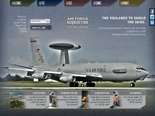 image of Air Force Acquisition Civilian Careers Wins 2013 Best Employment Mobile Website Mobile WebAward for Air Force Acquisition Civilian Careers