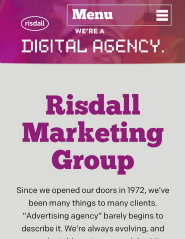 image of Risdall Advertising Agency Wins 2013 Best Marketing Mobile Website Mobile WebAward for Risdall Marketing Group