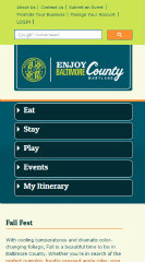 image of Baltimore County Government Wins 2013 Best General Interest Mobile Website Mobile WebAward for Enjoy Baltimore County