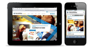 image of Aperto Group / Aperto Move Wins 2013 Best Events Mobile Website Mobile WebAward for Volkswagen RALLYTHEWORLD.COM
