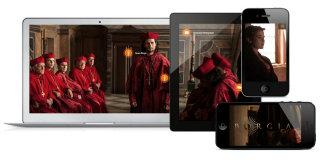 image of Aperto Group / Aperto Move Wins 2013 Best TV Mobile Website Mobile WebAward for  ZDF German Television BORGIA II Website