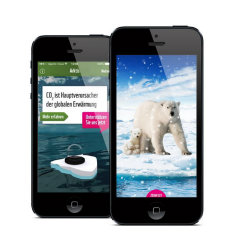 image of Aperto Group / Aperto Move Wins 2013 Best Environmental Mobile Application, Best Toy & Hobby Mobile Application Mobile WebAward for WWF - The Snow Globe Charity App