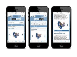 image of Aperto Group / Aperto Move Wins 2013 Best Catalog Mobile Website Mobile WebAward for KSB Centrifugal Pump Lexicon Website