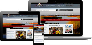 image of Maryland Department of Information Technology (DoIT) Wins 2013 Outstanding Mobile Website Mobile WebAward for Maryland.gov
