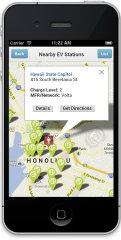 image of Hawaii Information Consortium, LLC Wins 2013 Best Energy Mobile Application Mobile WebAward for EV Stations Hawaii