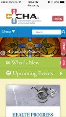 image of Matrix Group International, Inc. Wins 2013 Best Associations Mobile Website Mobile WebAward for Catholic Health Association of the United States Responsive Mobile Site Redesign
