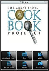 image of Family Cookbook Project Wins 2013 Best Publishing Mobile Application Mobile WebAward for Family Cookbook Mobile App