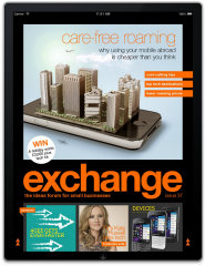 image of Publicis Blueprint on behalf of EE Wins 2013 Best Magazine Mobile Application, Best Telecommunication Mobile Application Mobile WebAward for Orange Exchange magazine