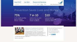 image of Robert Wood Johnson Foundation, Threespot, Velir Wins 2013 Best Health Care Mobile Website Mobile WebAward for RWJF.ORG Website