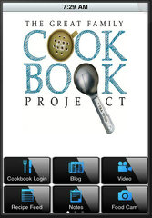 image of Family Cookbook Project Wins 2014 Best Publishing Mobile Application Mobile WebAward for Family Cookbook Mobile App