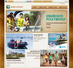 image of Recreational Boating & Fishing Foundation Wins 2014 Best Family Mobile Website, Best Leisure Mobile Website Mobile WebAward for Vamos A Pescar