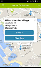 image of Hawaii Information Consortium, LLC Wins 2014 Best Energy Mobile Application Mobile WebAward for EV Stations Hawaii