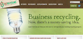 image of Risdall Advertising Agency Wins 2014 Best Environmental Mobile Website Mobile WebAward for Biz Recycling