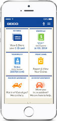 image of GEICO Wins 2014 Best Insurance Mobile Application Mobile WebAward for GEICO Mobile
