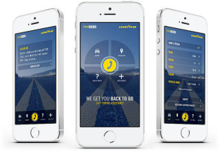 image of hfa / Goodyear Wins 2014 Best Automobile Mobile Application Mobile WebAward for Goodyear TOW365 App