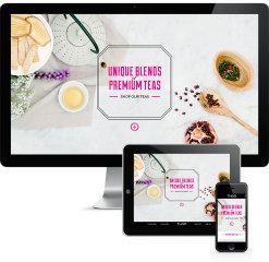 image of Ha Design Studio Wins 2014 Best Beverage Mobile Website Mobile WebAward for T.H.A.O. Tea Company Website