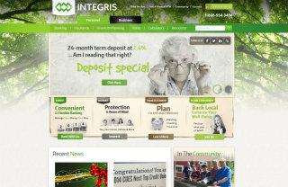 image of WSI Comandix & Agenda Marketing Wins 2014 Best Credit Union Mobile Website Mobile WebAward for Integris Credit Union