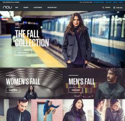 image of Copious Wins 2015 Best Fashion or Beauty Mobile Website, Best Shopping Mobile Website Mobile WebAward for Nau Digital Flagship