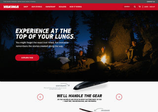 image of Copious Wins 2015 Best Retail Mobile Website Mobile WebAward for Yakima Racks